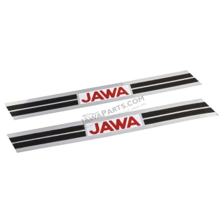 Stickers of fuel tank (2 pcs) - JAWA 50 23 (Mustang)