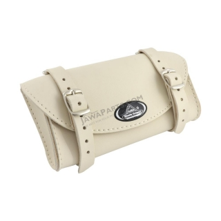 Saddle bag RETRO, CREAM - UNI