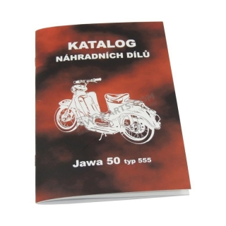 Catalog of spare parts - JAWA 50 555