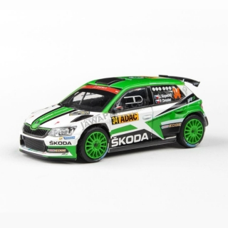 Model Škoda Fabia R5 (1:43), Jan KOPECKÝ #34 Rally Deutschland 2017