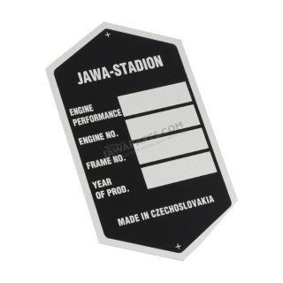 Frame label (printed), BLACK - Stadion S23