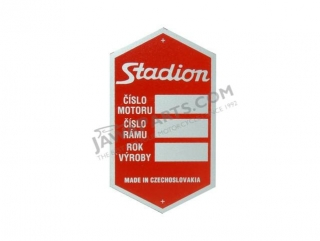 Type label, RED - Stadion